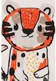 Catimini Bluza cu imprimeu cu tigru Baieti