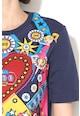 Love Moschino Tricou cu imprimeu abstract Femei