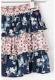 Pepe Jeans London Fusta scurta stratificata cu imprimeu floral Samu Fete
