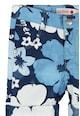 boboli Bermude cu model floral si terminatii rasucite Baieti