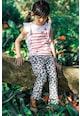 Catimini Pantaloni drepti cu imprimeu grafic Fete