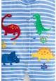 JoJo Maman Bebe Гащеризон с ританки и апликация с динозавър Момчета