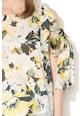 Max&Co Top lejer cu decupaje pe umeri si model floral Pathos Femei