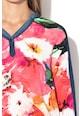 DESIGUAL Marlen blúz chambray anyagbetétekkel női