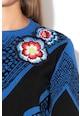 DESIGUAL Duo pulóver bársonyos szegélyekkel női