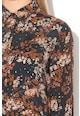 Maison Scotch Rochie tip camasa cu detalii perforate Femei