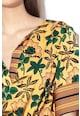 Maison Scotch Rochie cu imprimeu floral si snur pentru ajustare Femei