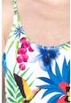DESIGUAL Costum de baie intreg cu imprimeu floral Tropic Femei