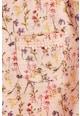 NEXT Virágmintás póló fodros ujjal és zsebbel Lány