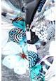 NEXT Pillangó mintás cipzáras pulóver Lány