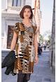 NEXT Rochie cu imprimeu in V si model abstract Femei