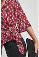 NEXT Десенирана блуза със застъпен дизайн Жени