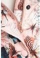 NEXT Pillangómintás bélelt télikabát Lány