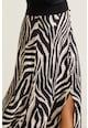 Mango Zebra bővülő maxiszoknya női