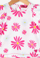 Agatha Ruiz de la Prada Tricou cu imprimeu floral Daisy Fete