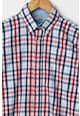 Dr. kid Карирана риза с копчета на яката Момчета