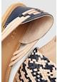 NEXT Sandale de piele cu detalii impletite Femei