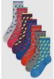 NEXT Set de sosete lungi cu model fulger - 7 perechi Baieti