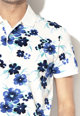 Gant Тениска с яка и флорален десен Мъже