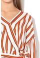 Pepe Jeans London Bluza in dungi cu detaliu nod Audrey Femei