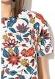 Max&Co Bluza din amestec de modal cu model floral Dispari Femei