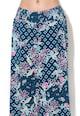 Undercolors of Benetton Pantaloni cullote de plaja, cu banda elastica si pliuri Femei