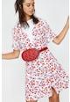 KOTON Rochie mini cu imprimeu floral si cordon in talie Femei