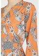 KOTON Rochie midi cu croiala petrecuta si imprimeu grafic Femei