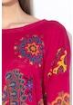 DESIGUAL Фин пуловер с шарка на мандали Жени