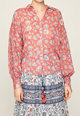 Pepe Jeans London Camasa cu maneci lungi si model floral Femei