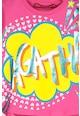 Agatha Ruiz de la Prada Tricou cu imprimeu logo Comic Bubbles Fete