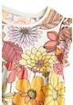 NEXT Rochie cu imprimeu floral si maneci scurte cu volane Fete