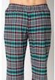 ESPRIT Bodywear Camasa de flanel sin bumbac organic in carouri si pantaloni de pijama Barbati