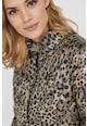 Vero Moda Подплатено зимно яке с животинска шарка Жени