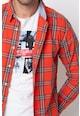 Pepe Jeans London Camasa slim fit cu imprimeu in carouri Brooks Barbati