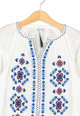 Pepe Jeans London Bluza cu model traditional si motive brodate Regina Fete