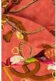 Guess Modál- és selyemtartalmú kendő virágos részletekkel női