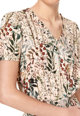 Top Secret Rochie mini cu decolteu in V si imprimeu Femei