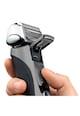 Braun Aparat de ras  Series 7 7855s, 4 elemente de ras, Contur 8-D, Tehnologie sonica, Wet&Dry, Gri premium Barbati