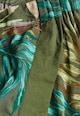 NEXT Pantaloni scurti verzi cu frunze Femei