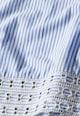 NEXT Bluza albastru cu alb in dungi si cu maneci clopot Femei