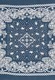 Levi's Esarfa albastru inchis cu imprimeu Femei