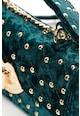 Fornarina Geanta crossbody de catifea cu nituri Rose Femei
