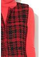 Marella Vesta tricotata din amestec de lana cu model in carouri Calerno Femei